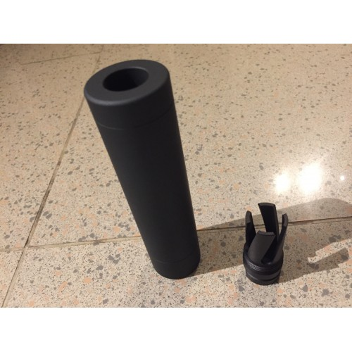 Worker Cyclone Metal Muzzle and ABS Silencer Combo