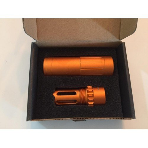 Worker Metal Silencer Muzzle Set  (Orange)