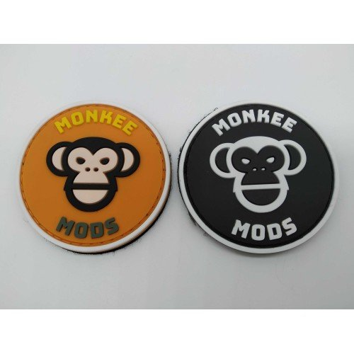 Monkee Mods Rubber Velcro Patch