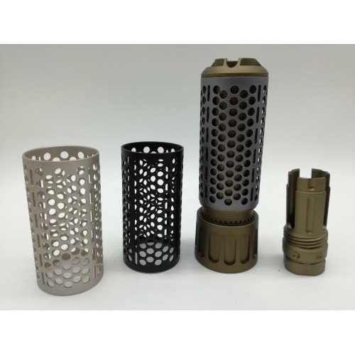 Worker QDC and Hell's Angels Metal Muzzle Silencer