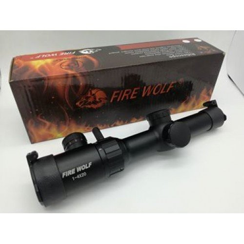 Firewolf 1-4x Variable Zoom Scope