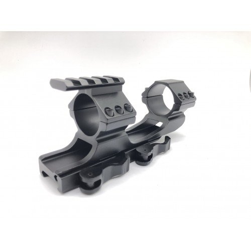Scope Mount With Top Rail